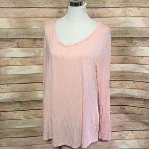 Basic pink long sleeve tshirt